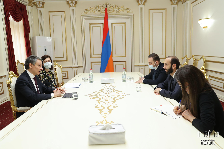 Photo of Արարատ Միրզոյանը հանդիպել է Հայաստանում ՄԱԿ-ի Զարգացման ծրագրի մշտական ներկայացուցչին