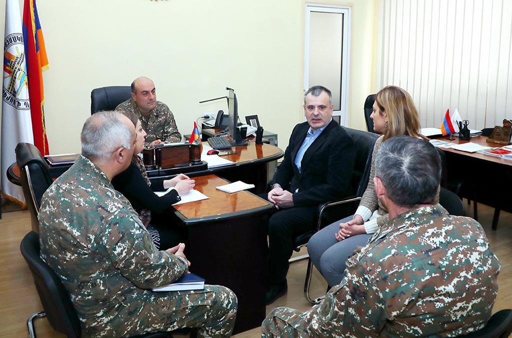 Photo of Հունաստանի դեսպանության ռազմական կցորդն այցելել է ռազմական համալսարան