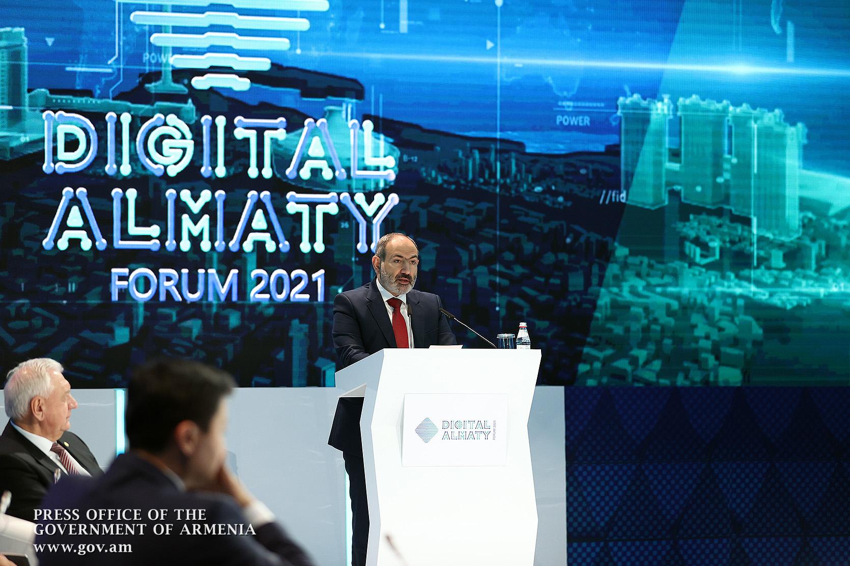 Photo of «Պետք է ձգտել, որպեսզի թվային մակարդակում ԵԱՏՄ երկրների միջև սահմանները վերանան». վարչապետը մասնակցել է «Almaty Digital Forum 2021» ֆորումին
