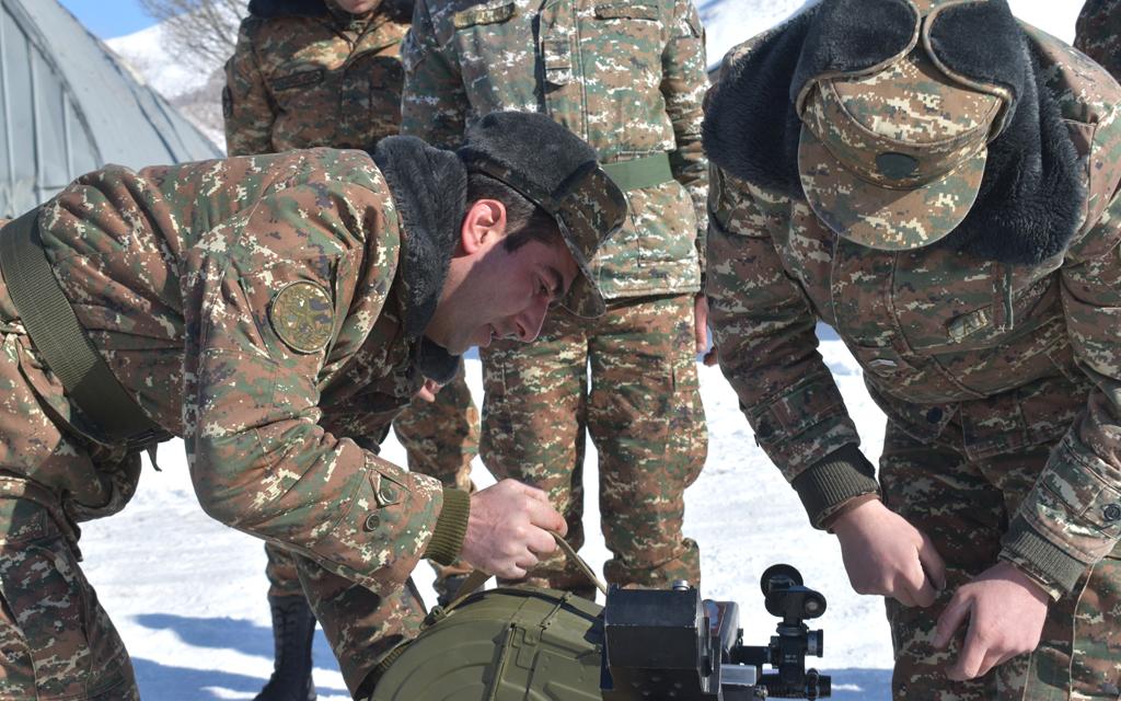 Photo of Գործնական պարապմունքներ 5-րդ զորամիավորումում