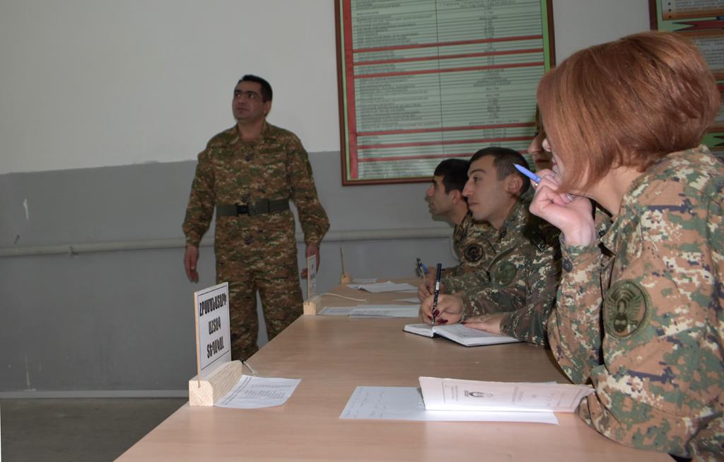 Photo of 4-րդ զորամիավորումում անցկացվել են երկօրյա հավաքներ