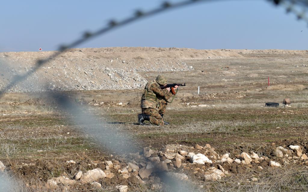 Photo of 5-րդ զորամիավորումում անցկացվել են կրակային պատրաստության պարապմունքներ