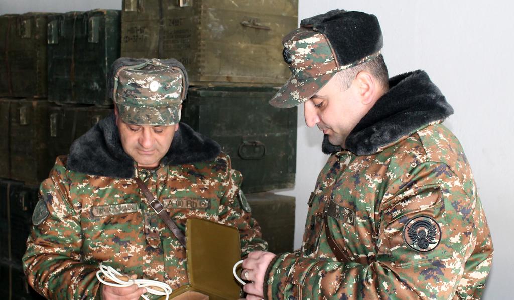Photo of 4-րդ զորամիավորումում անցկացվել են ինժեներասակրավորային ստորաբաժանումների հրամանատարների հավաքներ