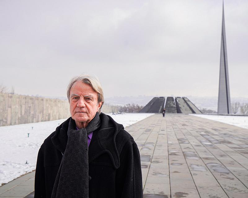 Photo of «Ավրորա» մրցանակի Ընտրող հանձնաժողովի անդամ Բեռնարդ Քուշներն  այցելել է Հայաստան եւ Արցախ