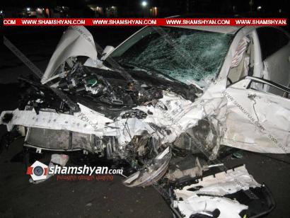 Photo of Ավտովթար Արմավիրի մարզում, բախվել են Mazda6-ն ու Honda-ն․ կա 1 զոհ, 5 վիրավոր