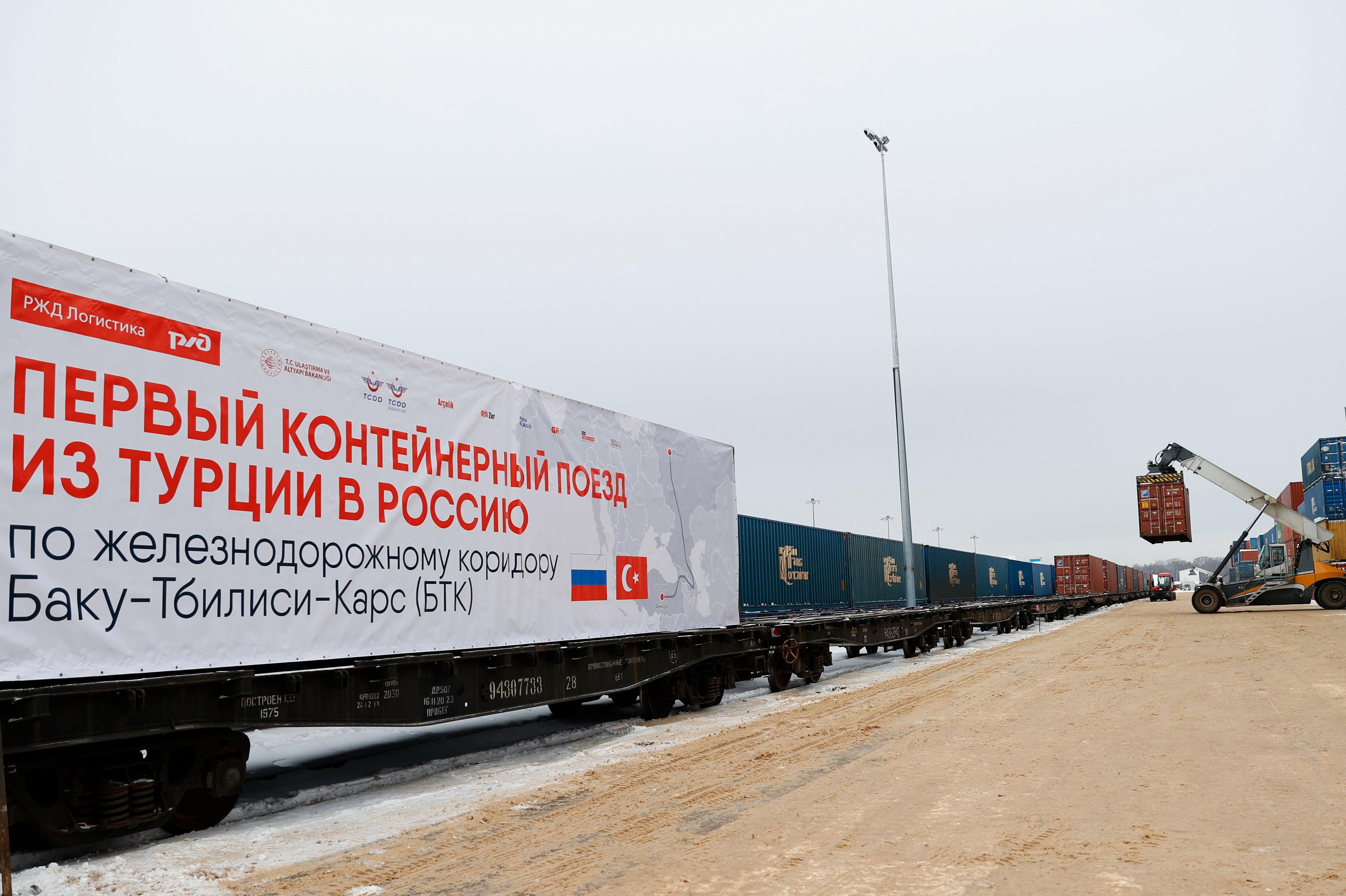 Photo of Բաքու-Թբիլիսի-Կարս երկաթուղով իրականացվել է Թուրքիայից Ռուսաստան 1-ին արտահանումը