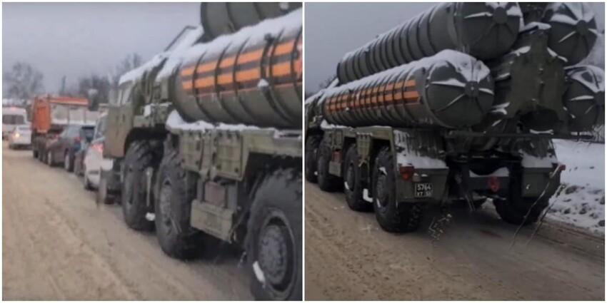 Photo of Под Москвой зенитный ракетный комплекс попал в ДТП