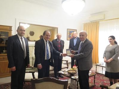 Photo of Посол Армении провел встречу с армянскими учеными Ирана