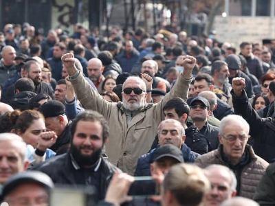 Photo of Движение по спасению Родины проведет митинг 1 марта в 18:00 на проспекте Баграмяна