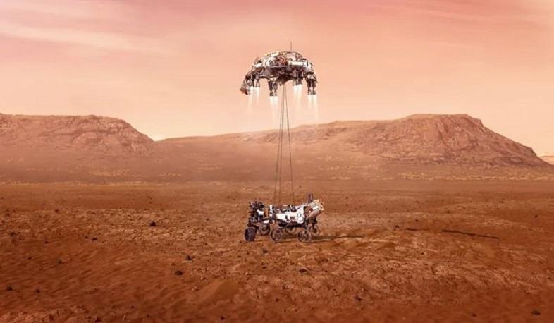 Photo of Ամերիկյան մարսագնացը բարեհաջող վայրէջք է կատարել Մարսի վրա