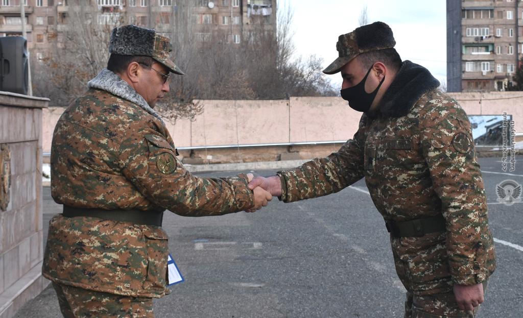 Photo of Պարգևատրվել են լավագույն զինծառայողները