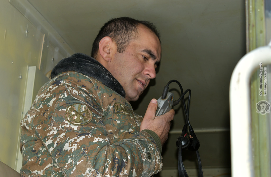 Photo of 5-րդ զորամիավորումում անցկացվել են կապի վարժանքներ