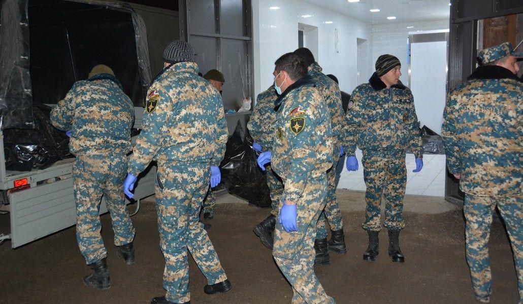 Photo of Ենթադրվում է, որ տղաները նախապես հուղարկավորված են եղել և 106 դիերը արտաշիրիմումից հետո են փոխանցվել
