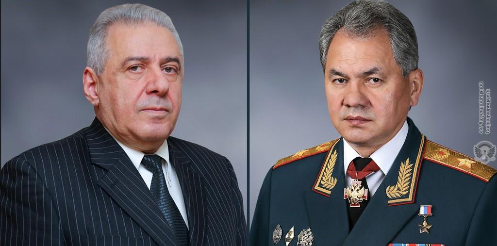 Photo of Վաղարշակ Հարությունյանն ու Սերգեյ Շոյգուն քննարկել են Հայաստանում ստեղծված իրավիճակը