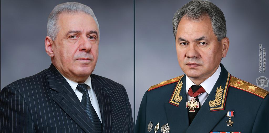 Photo of Վաղարշակ Հարությունյանն ու Սերգեյ Շոյգուն քննարկել են հայ-ռուսական շտաբային բանակցությունների արդյունքները