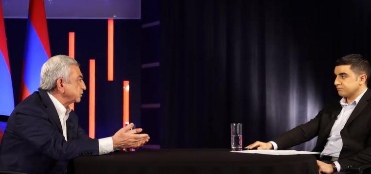 Photo of Հարցրեց` Սե՛րժ, կարո՞ղ ես ազնվորեն ասել, թե որն է քո նպատակը Ղարաբաղի հարցում. Սերժ Սարգսյանը հարցազրույց է տվել