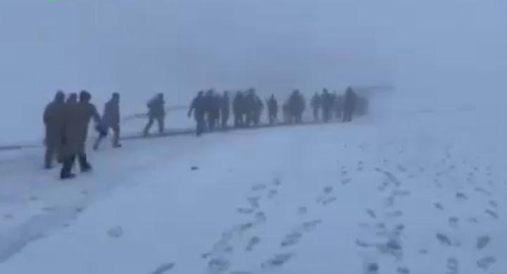 Photo of Первое видео с места крушения турецкого военного вертолета