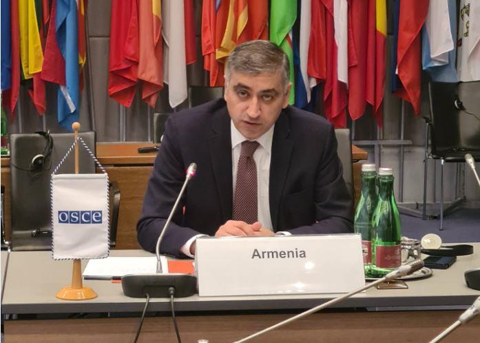 Photo of Հայաստանին փոխանցվեց ԵԱՀԿ Անվտանգության համագործակցության ֆորումի նախագահությունը