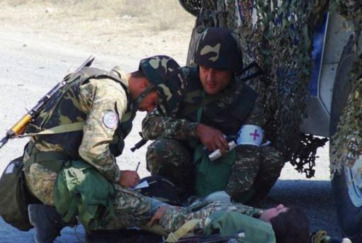 Photo of Во время Арцахской войны Азербайджан нацелился на медицинский персонал. Саак Оганян