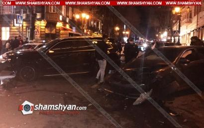 Photo of Խոշոր ավտովթար Երևանում. քաղաքի կենտրոնում բախվել են Toyota-ն ու Mercedes-ը. կան վիրավորներ