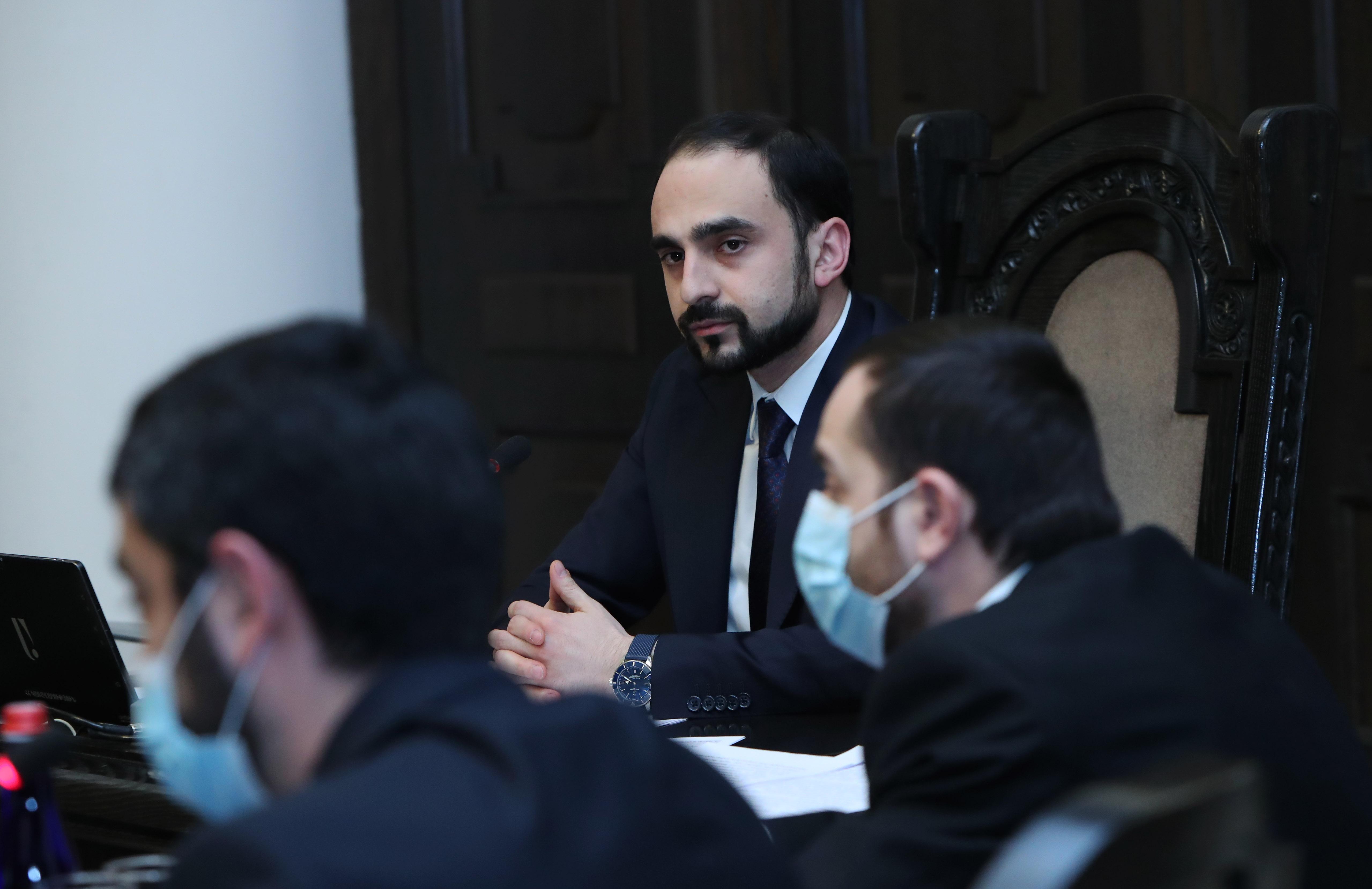 Photo of Տիգրան Ավինյանն ընդունել է «Գիտուժ» նախաձեռնության ներկայացուցիչներին