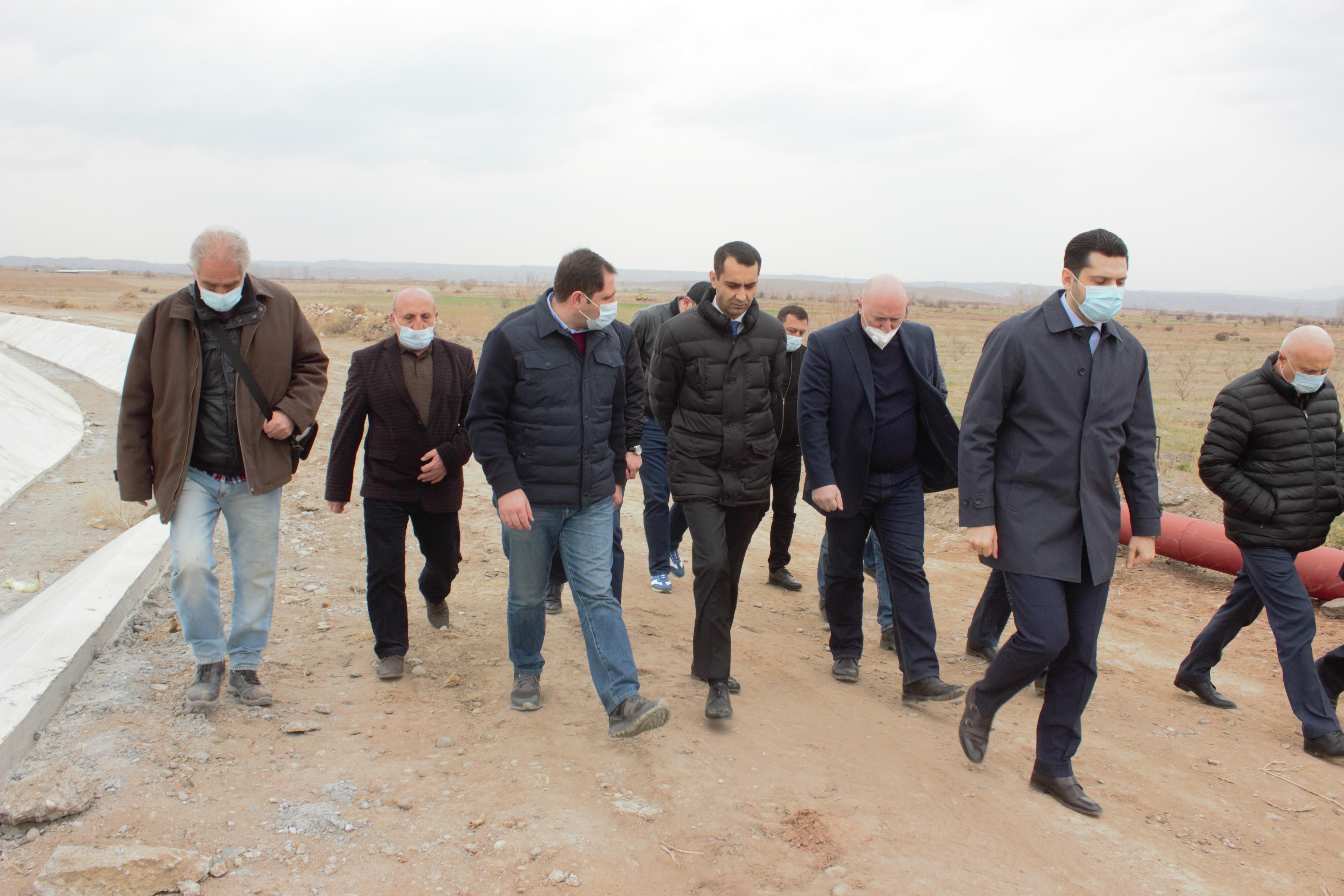 Photo of Սուրեն Պապիկյանն այցելել է Արագածոտնի և Արմավիրի մարզեր
