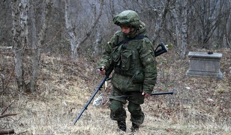 Photo of ՌԴ խաղաղապահները Արցախում ականազերծել են շուրջ 1 535 հա տարածք