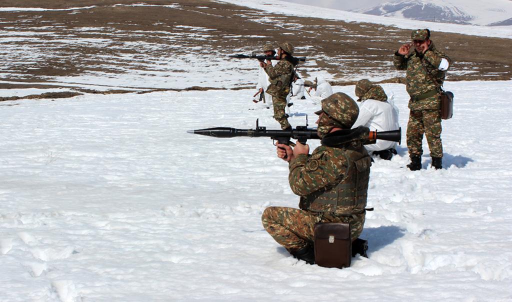 Photo of Տանկային և հրաձգային գումարտակների համատեղ վարժանքներ