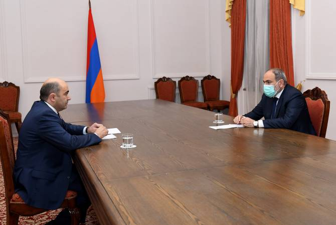 Photo of Էդմոն Մարուքյանը կառավարությունում է՝ հանդիպելու վարչապետ Նիկոլ Փաշինյանին