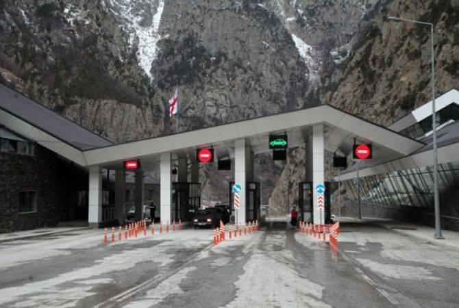 Photo of Автодорога Степанцминда-Ларс открыта для всех видов транспорта