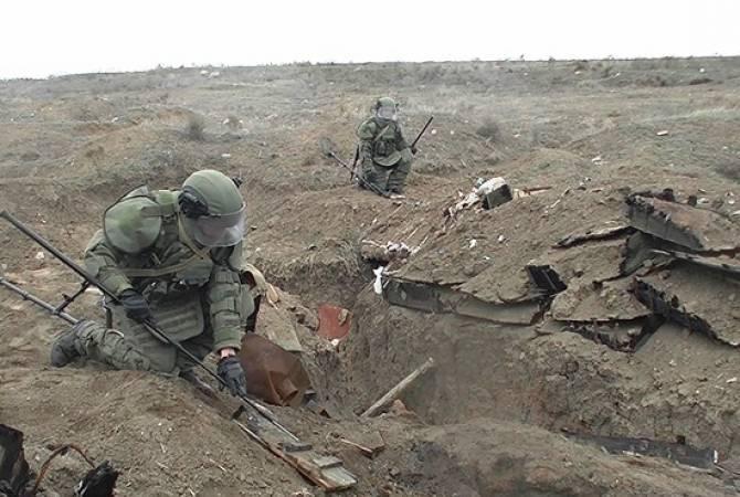 Photo of ՌԴ խաղաղապահները Լեռնային Ղարաբաղում 25 154 պայթյունավտանգ օբյեկտ են հայտնաբերել եւ վնասազերծել