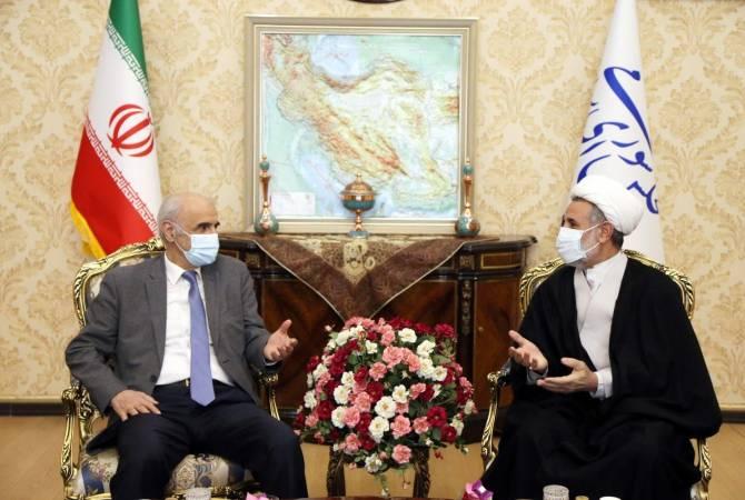 Photo of Посол Армении и иранский парламентарий обсудили возможные региональные развития