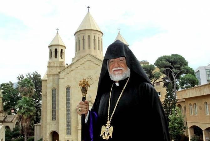 Photo of Արամ Ա կաթողիկոսը նշում է ծննդյան 74-ամյակը