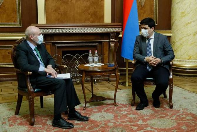 Photo of ՄԻԵԴ-ում ՀՀ ներկայացուցիչն ու Գերմանիայի դեսպանը քննարկել են Ադրբեջանից հայ ռազմագերիներին վերադարձնելու քայլերը