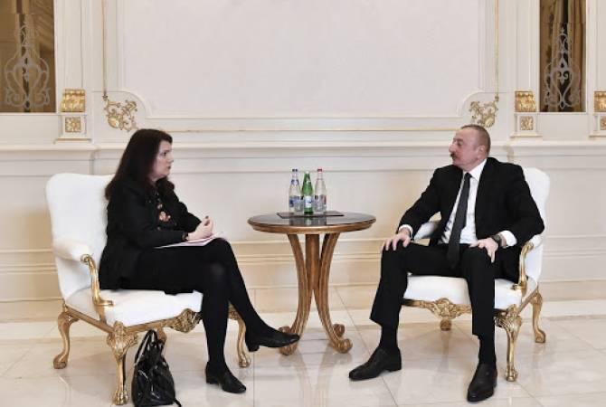 Photo of Ильхам Алиев на встрече с Анн Линде отметил значение ОБСЕ в решении карабахского конфликта