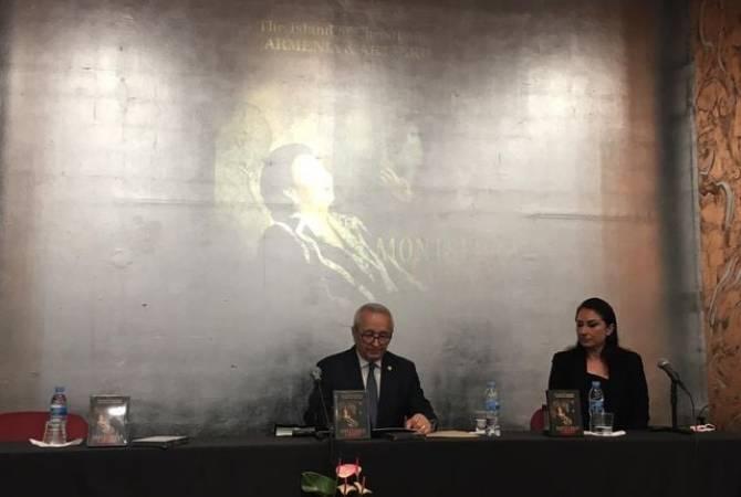 Photo of В Мадриде состоялась презентация альбома Монсеррат Кабалье «Армения и Арцах: Островок христианства»