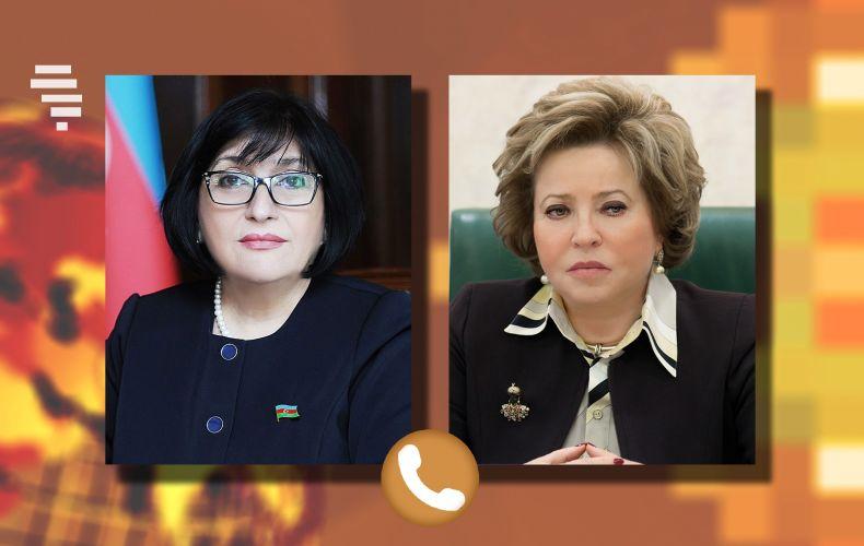 Photo of Матвиенко обсудила с азербайджанским коллегой вопрос возвращения армянских женщин