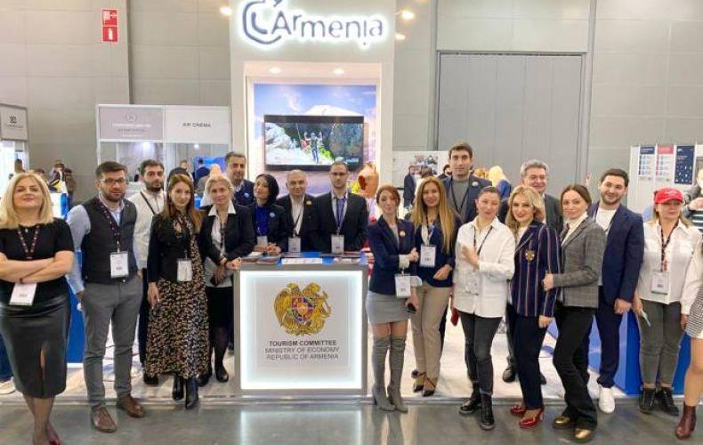 Photo of Հայաստանը ներկայացրել է իր զբոսաշրջային ներուժը ՌԴ ամենախոշոր զբոսաշրջային ցուցահանդեսում