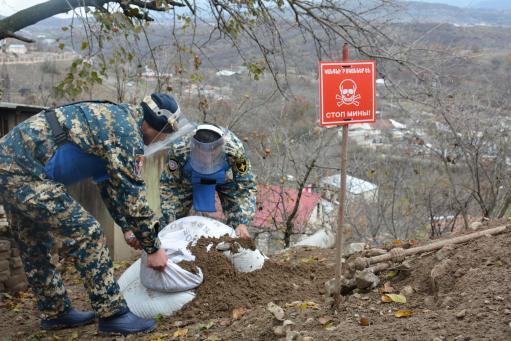 Photo of Սեպտեմբերի 27-ից մինչ օրս Արցախում ոչնչացվել է 477039 հատ արկ և զինամթերք