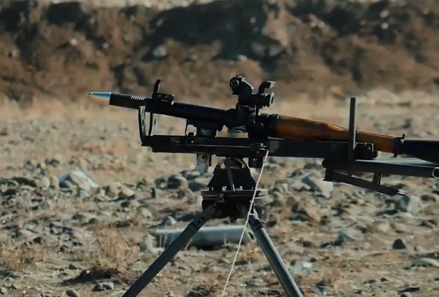 Photo of Հայկական արտադրության ձեռքի նռնականետի ՕԳ-7Վ մարտական կրակոցը. գտնվում է սերիական արտադրության փուլում