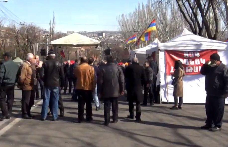 Photo of Հայրենիքի փրկության շարժման հանրահավաքը Բաղրամյան պողոտայում. ՈւՂԻՂ