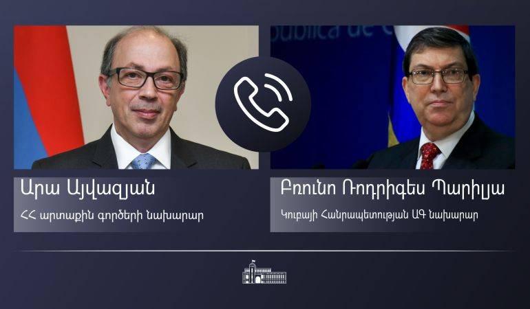 Photo of Главы МИД Армении и Кубы обменялись мнениями о перспективах сотрудничества в рамках ЕАЭС