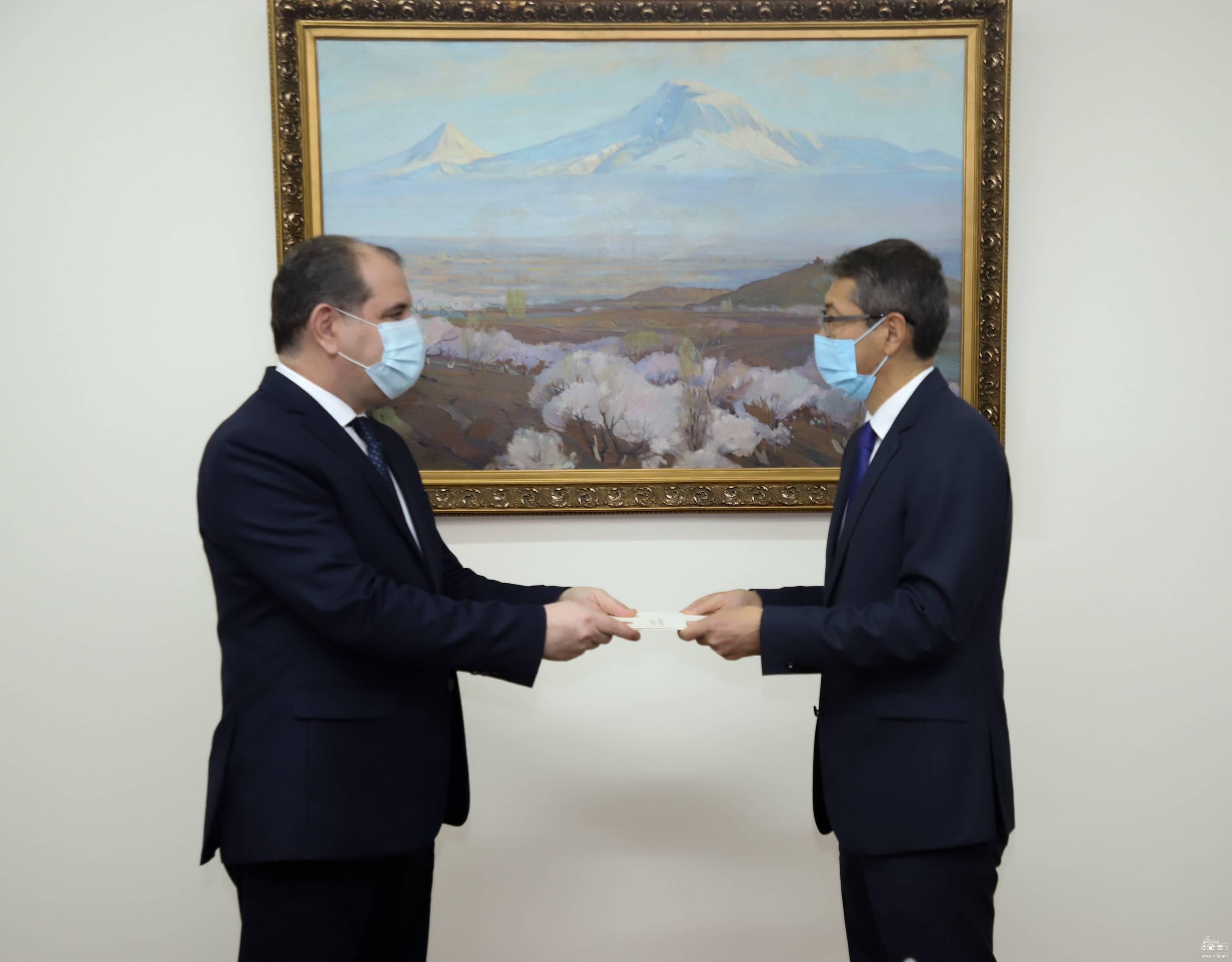 Photo of Հայաստանը հետաքրքրված է Ղազախստանի հետ համագործակցության առաջմղմամբ. ԱԳ նախարարի տեղակալ
