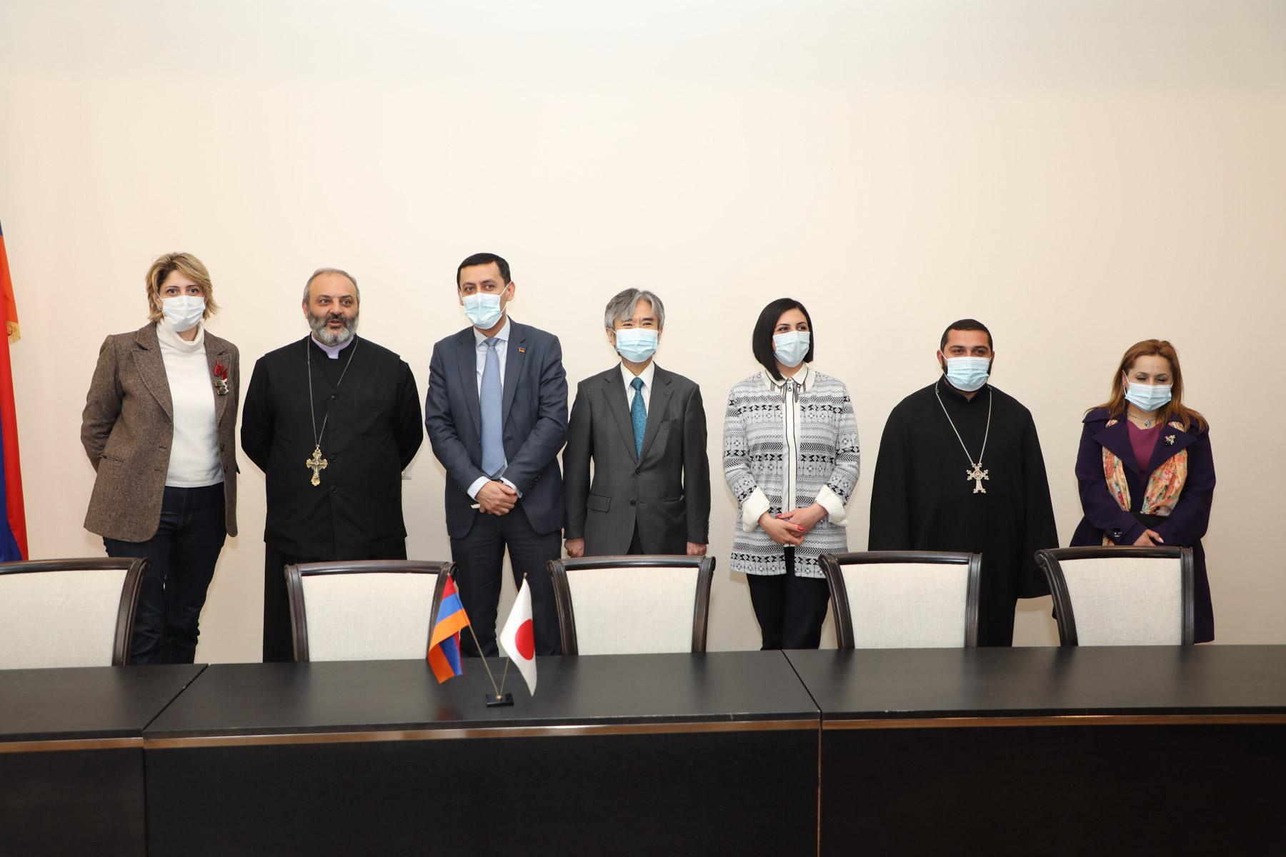 Photo of Ճապոնիայի կառավարության դրամաշնորհային ծրագրեր՝ Մարգահովիտում և Նոյեմբերյանում