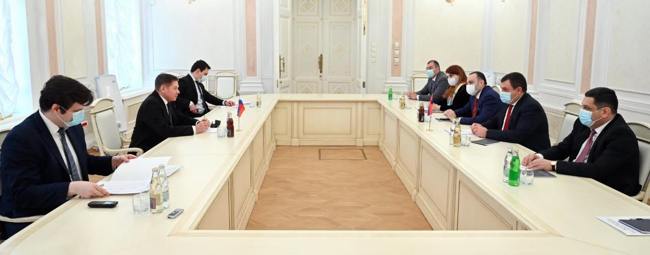 Photo of ՌԴ գերագույն դատարանի նախագահն ընդունել է ՀՀ ԲԴԽ պատվիրակությանը