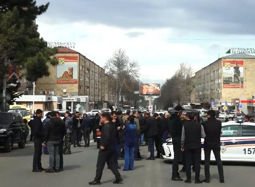 Photo of Բողոքի ակցիա Ստեփանակերտում