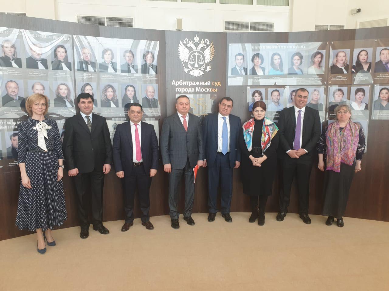 Photo of Շարունակվում են ՀՀ դատական իշխանության պատվիրակության պաշտոնական հանդիպումները ՌԴ մայրաքաղաքում