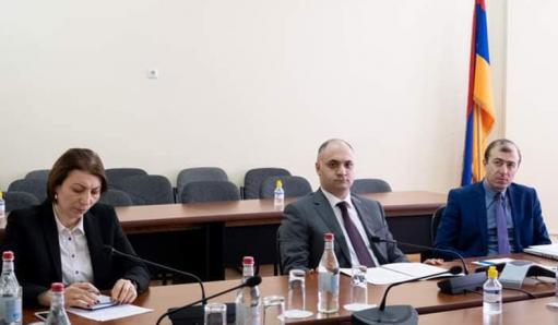 Photo of ՏՄՊՊՀ նախագահը մասնակցել է ԵԱՏՄ իրավասու մարմինների «5+1» ձևաչափով խորհրդակցությանը