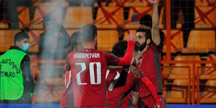 Photo of Հայաստանի հավաքականի հաղթական հանդերձարանը
