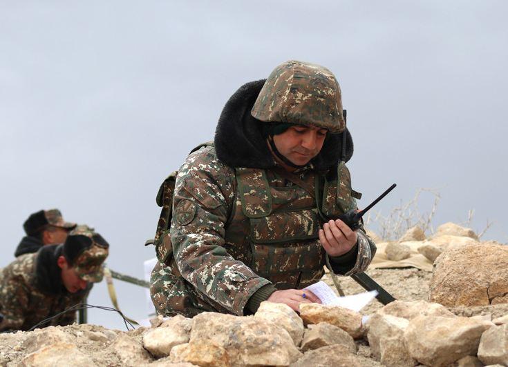 Photo of 5-րդ զորամիավորման զորամասերից մեկի անձնակազմն անցկացրել է ցուցադրական վաշտային մարտավարական զորավարժություն